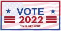 VOTE 2021 Video Flyer Templates Facebook Shared Image