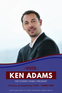 Vote Campaign Flyer Template