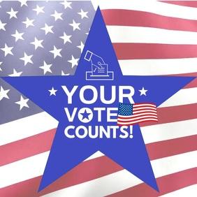VOTE Counts Flyer video Templates