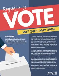 Vote Pamflet (VSA Brief) template