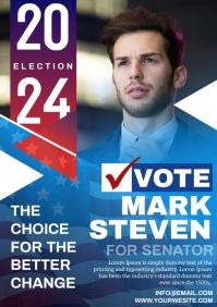 vote A4 template