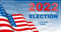 VOTE 2021 Election Flyer Templates Facebook Shared Image