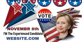 Vote for Me Facebook Header