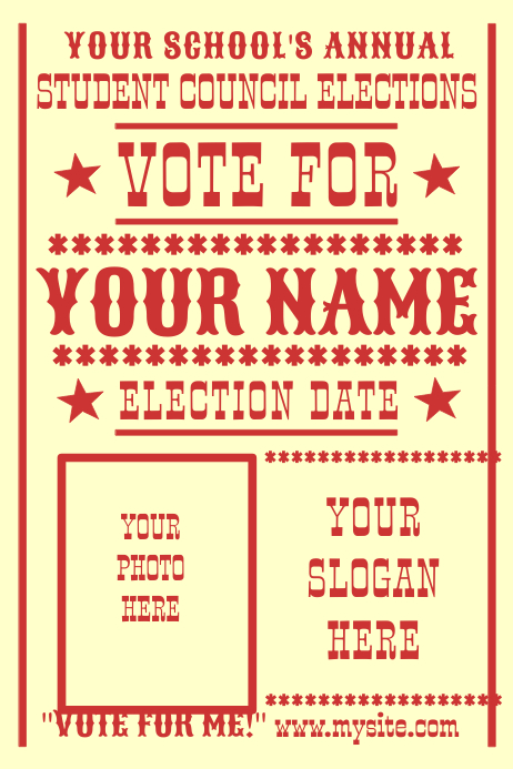 Vote For...