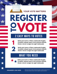 Voter Registration Flyer