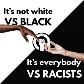 Vs Racists BLM Instagram Post