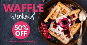 waffle Facebook Advertensie template