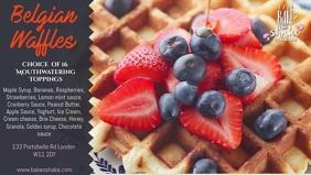 Waffles Breakfast Video Ad Template