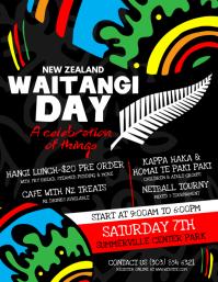 Waitangi Day Flyer