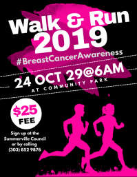 Walk & Run Flyer