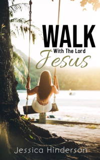 Walk With The Lord Jesus ปก Kindle template