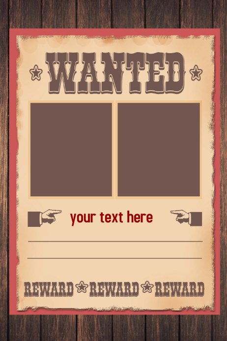 WANTED Poster Flyer