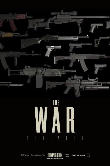 War Movie Poster Template