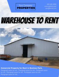 Warehouse to Rent Flyer Template