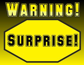 warning surprise (party)