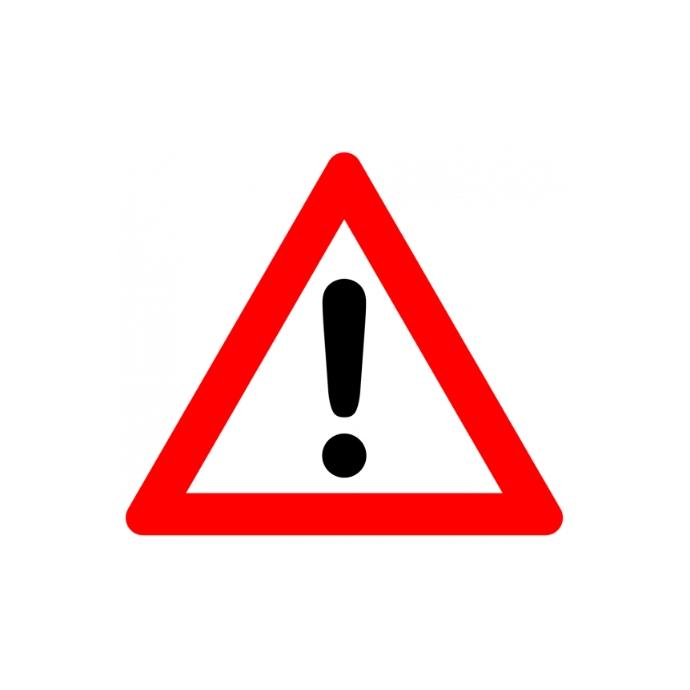Warning symbol, Warning sign Template | PosterMyWall