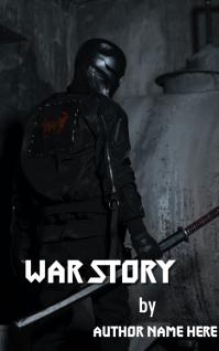 Warrior Soldier Sampul Buku template