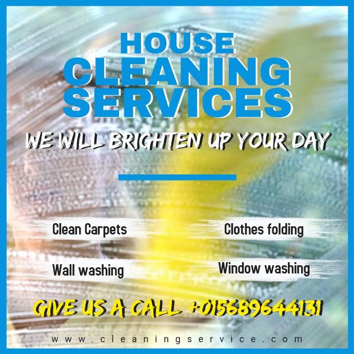 Wash Service Social Media Advert