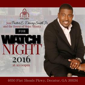 Watch Night Service Promo