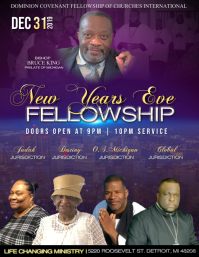 Watch Night Fellowship Flyer