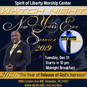 Watch Night Service New Years