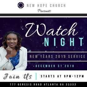 Watch Night Services