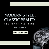 watch single product sale advertisement Pos Instagram template