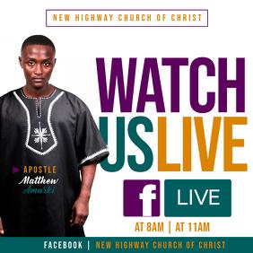 Watch Us Live