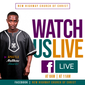 Watch Us Live