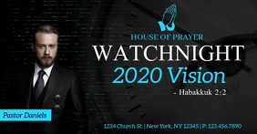 Watchnight 2020 Facebook Shared Image template