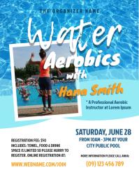Water Aerobics Flyer
