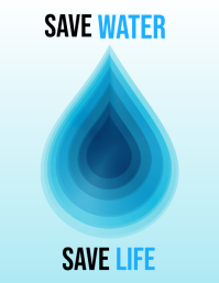 water day flyers,environmental flyers,event flyers