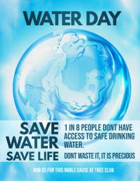 Water day flyers,environmental flyers ,event flyers