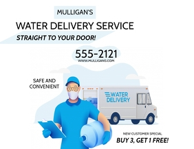 WATER DELIVERY SERVICE