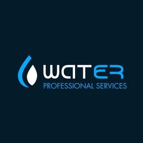 water drop icon template logo design