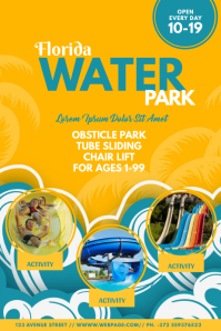 Water Park Flyer Templatea