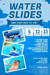 Water Slide Flyer Template