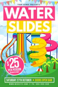 Water Slides Poster