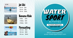 Water Sport Beach Holiday Summer Tourism Ad