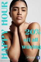 20% OFF all Waxing