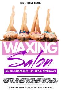 Waxing Salon Poster
