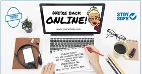 We're Back Online
