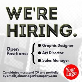 we're hiring alert square instagram video
