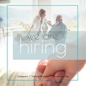we're hiring CNA Nurse aides Instagram