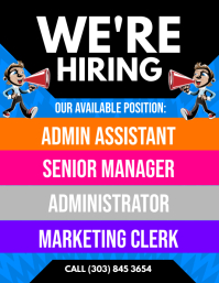 We're Hiring Flyer