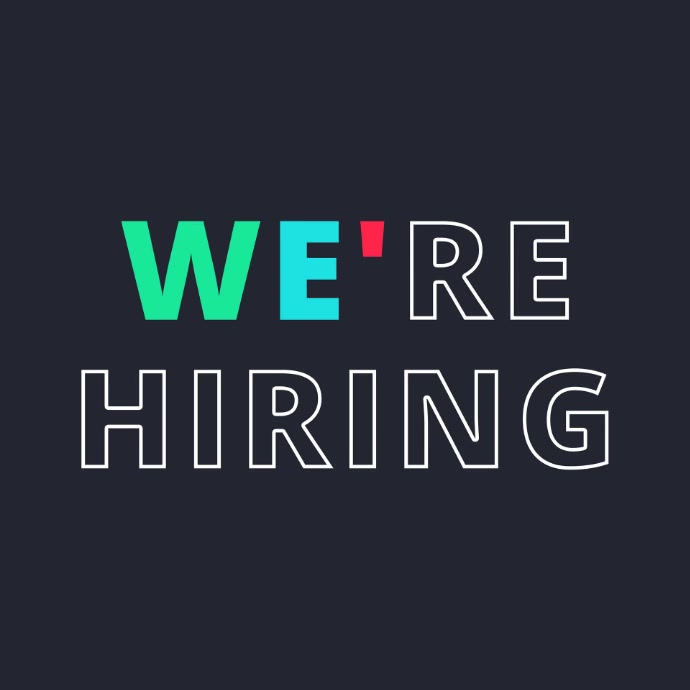 We're Hiring Video Post