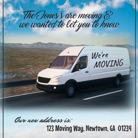 We're Moving Video