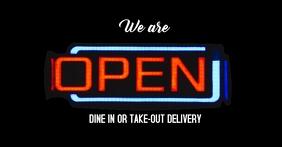 We're Open FB