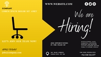 We Are Hiring Ad Blog Header template