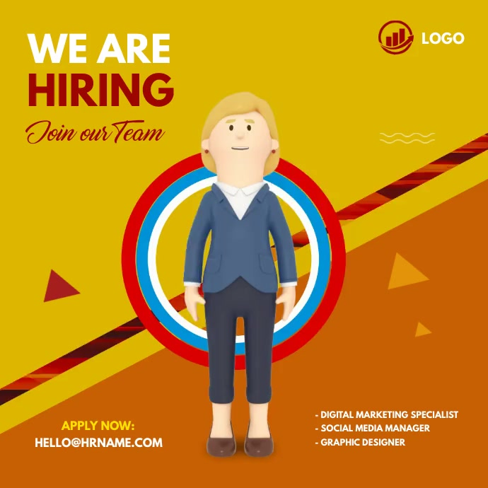 We are hiring ad Iphosti le-Instagram template